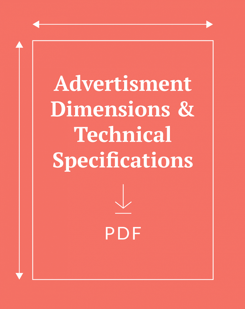Download PDF of advertisement dimensions & technical specifications